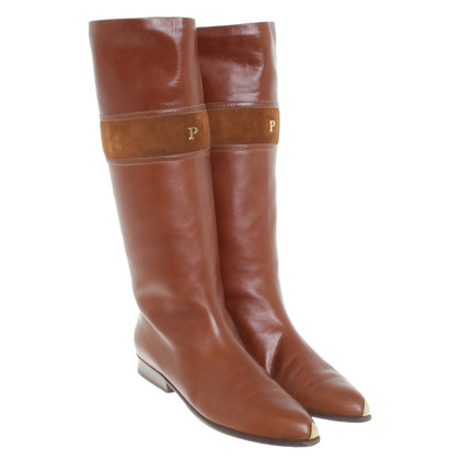Pollini Boots in brown