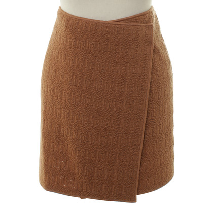 Missoni skirt in terracotta