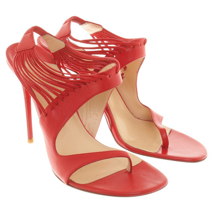 Christian Louboutin Stilettos in red