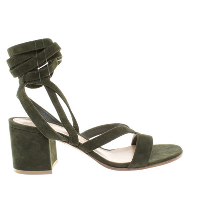 Gianvito Rossi Sandals in Olive
