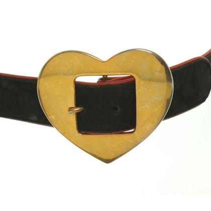 Escada Suede belt in black