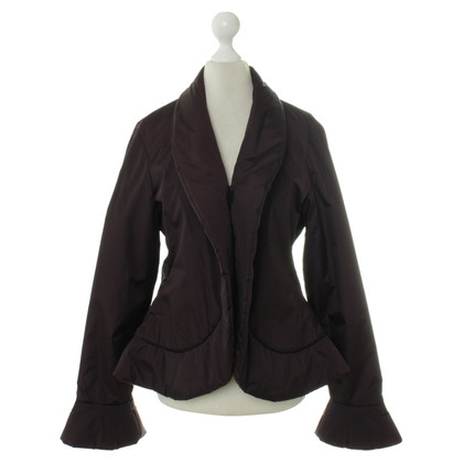 Jean Paul Gaultier Jacket in Auberginefarben