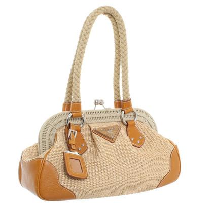 Prada Handtasche aus Bast