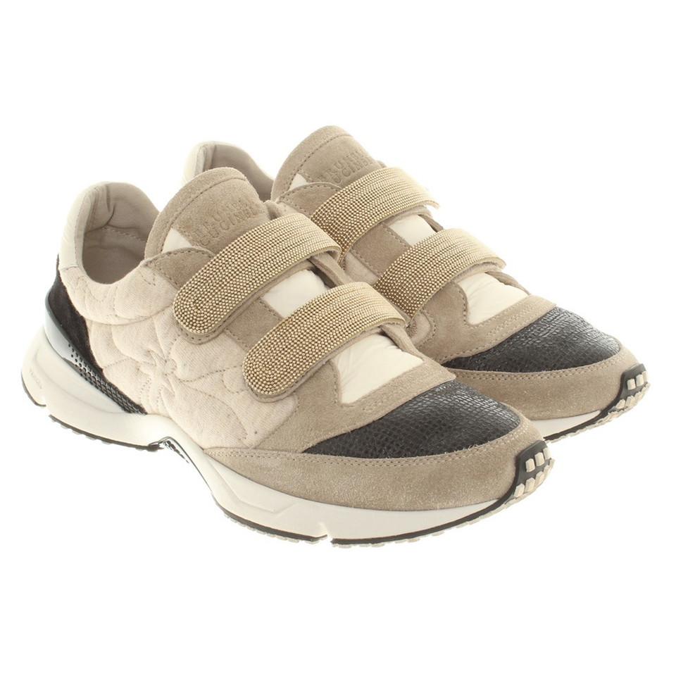 Brunello Cucinelli Chaussures de sport beige