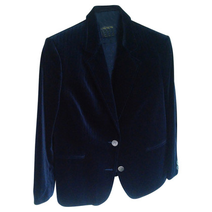 Céline Costume di velluto blu