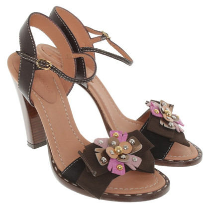 Dolce & Gabbana Sandals with floral application
