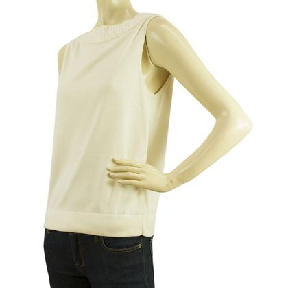 Hermès Top met rieten-detail