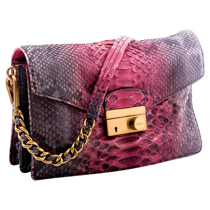 Prada Shoulder bag in python leather