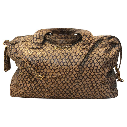Miu Miu Handbag made of snakeskin
