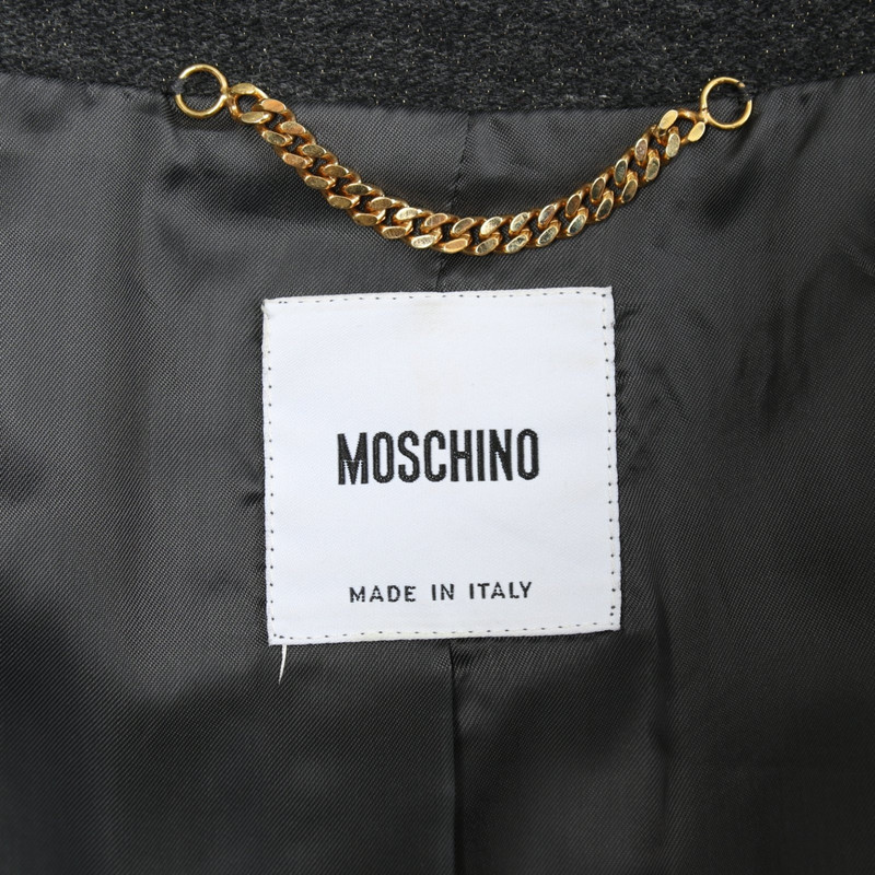 Moschino Cappotto color oro Second hand Moschino Cappotto