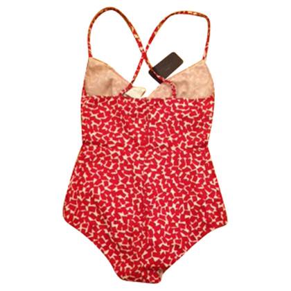 Prada Swimsuit in red/white
