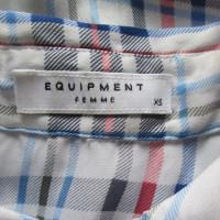 Equipment camicetta di seta senza maniche