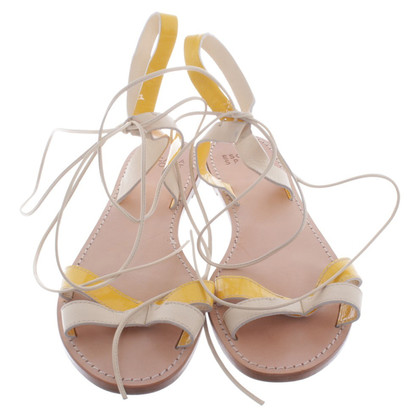 Escada Sandals with laces