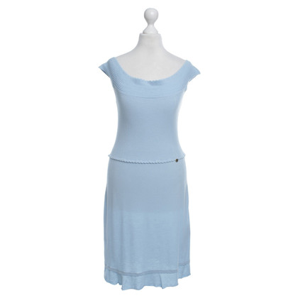 Liu Jo Light blue knit dress