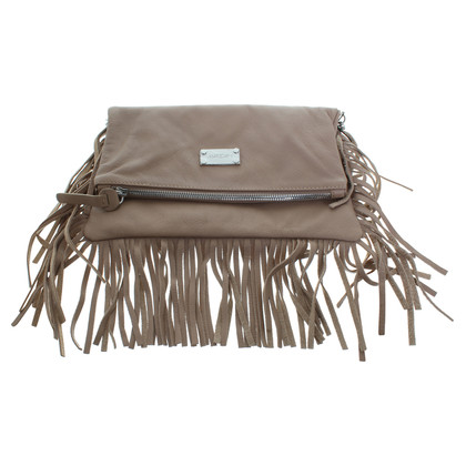 Marc Cain clutch with fringes