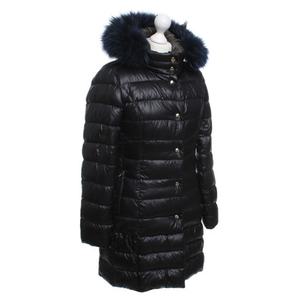 Other Designer Herno quilted coat with vest and fur trim