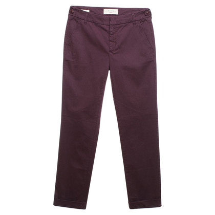 Max Mara Chinohose in Bordeaux