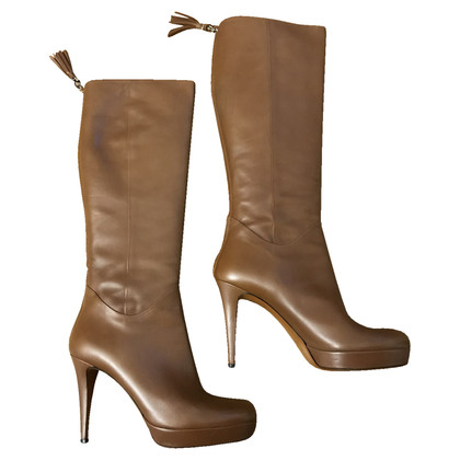 Gucci Bamboo boots
