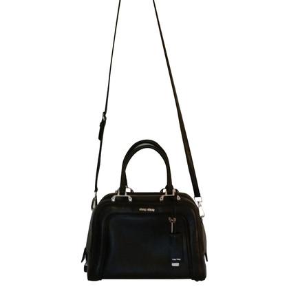 Miu Miu Shoulder Bag Leather black