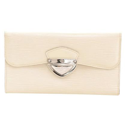 Louis Vuitton Wit EPI lederen portemonnee
