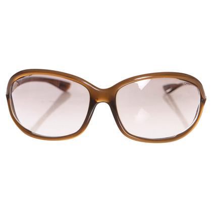 Tom Ford Lunettes de soleil brunes