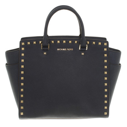Michael Kors Shoppers in dark blue