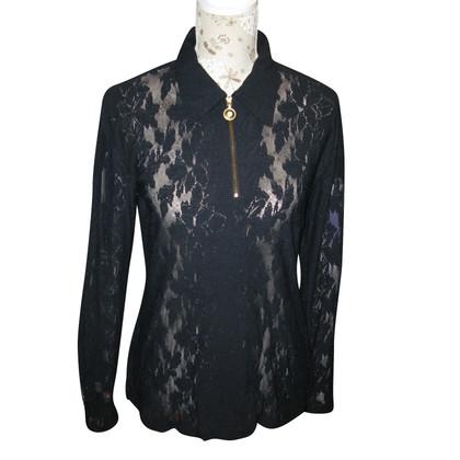 MCM Camicia di pizzo nero