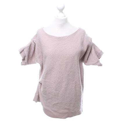 Cos maglione a maniche corte in Rosé