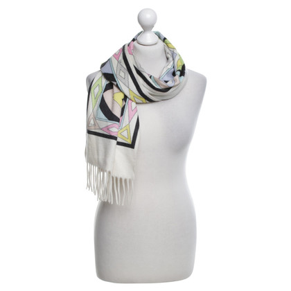Emilio Pucci sciarpa di cachemire in multicolor