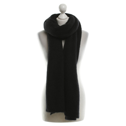 Acne Scarf in black