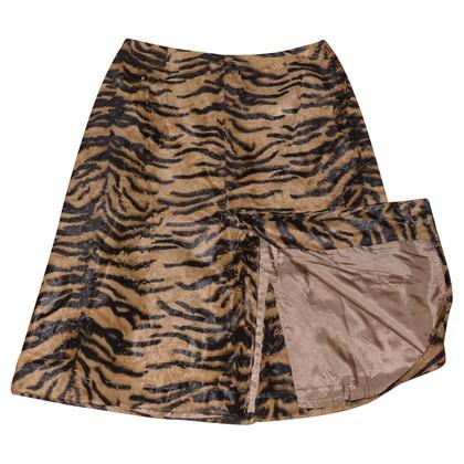 Tara Jarmon animal print skirt