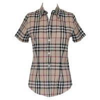 Burberry Short sleeve blouse with Nova check pattern