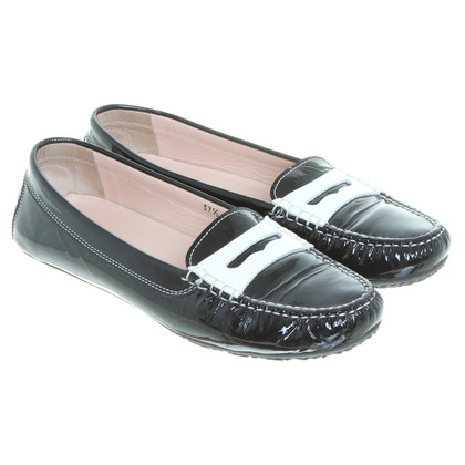 Unützer Black patent leather loafers