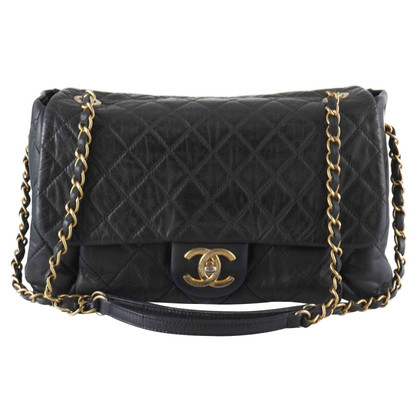 Chanel Black Quilted Iridescent Flap Bag
