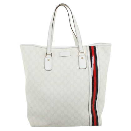 Gucci Shoppers in crema bianca