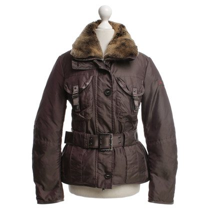 Peuterey Down jacket with fur collar