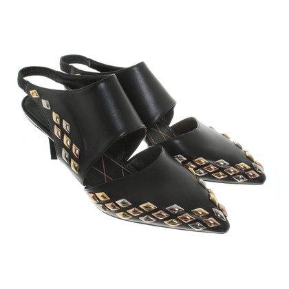 Louis Vuitton Sling-Pumps aus Leder
