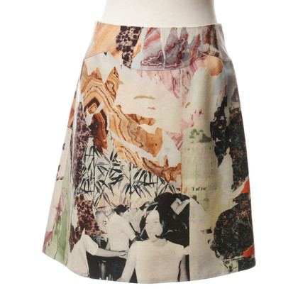 Carven skirt with floral print