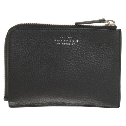 Smythson Wallet in black