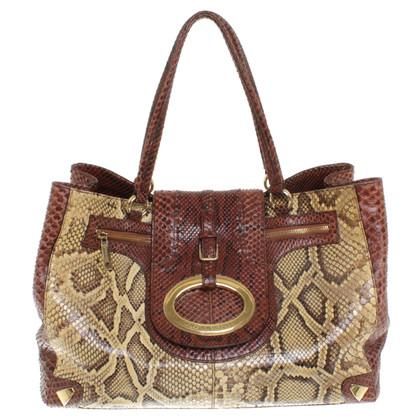 Dolce & Gabbana Handtas gemaakt van python leer