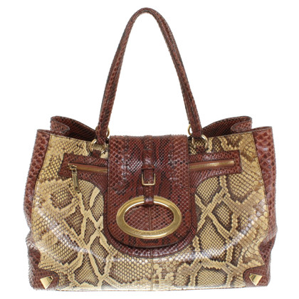 Dolce & Gabbana Python leather handbag