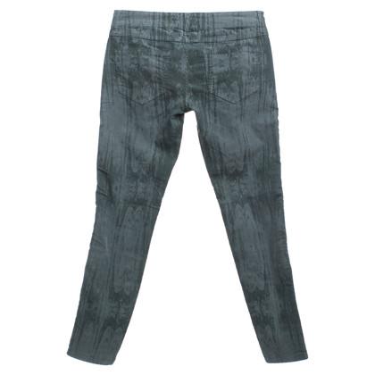 Closed pantaloni di velluto in verde