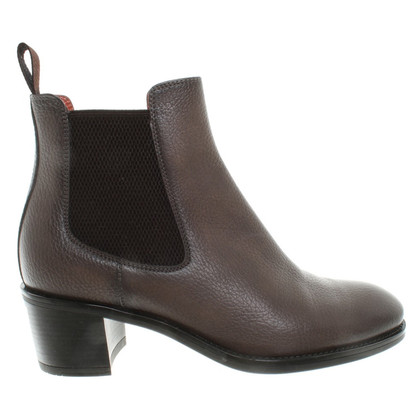 Santoni Ankle Boots in Taupe