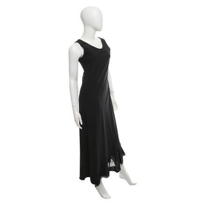 Marithé et Francois Girbaud Maxi jurk in zwart