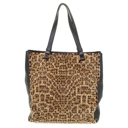 Christian Louboutin Panettone shopping bag