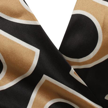 Offizielle Günstig Online Diane von Furstenberg Wickelkleid mit Muster Bunt / Muster Speichern Günstig Online Spielraum Top-Qualität Auslass Offizielle Seite Footlocker Online x7aO8