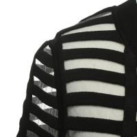 Reiss Tailliertes Kleid in Schwarz
