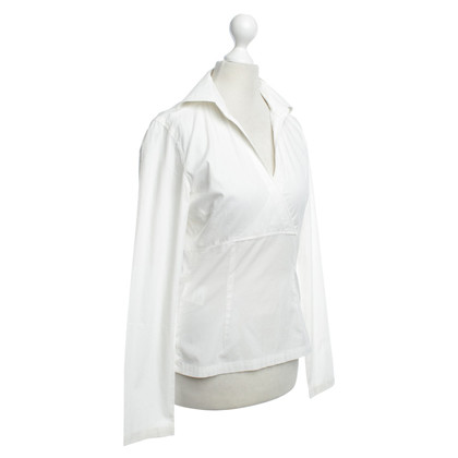 René Lezard Blouse in cream