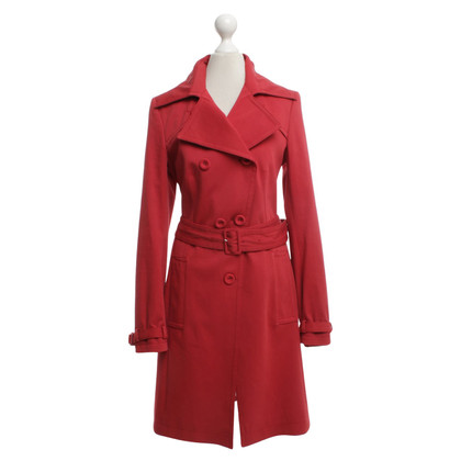 Drykorn Trench coat in red