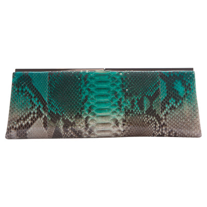 Jimmy Choo clutch Python Leather